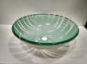 Glass basin Bowl