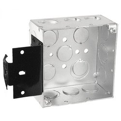 MS Junction Box, Square, 5x5 Inch
