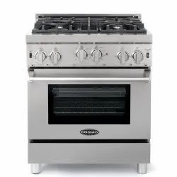 SS Double Burner Gas Range