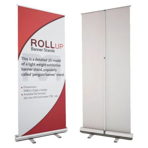 Roll Up Display Standee at Rs 1850 /piece | Roll Up ...