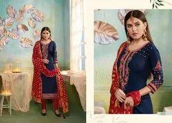 Sajawat Jam Silk Swrovski Diamond Work Traditional  Designer Salwar Kameez