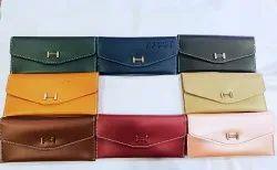 Leatherite Plain Corporate Gift Leatherette Ladies Wallet, Compartments: 3