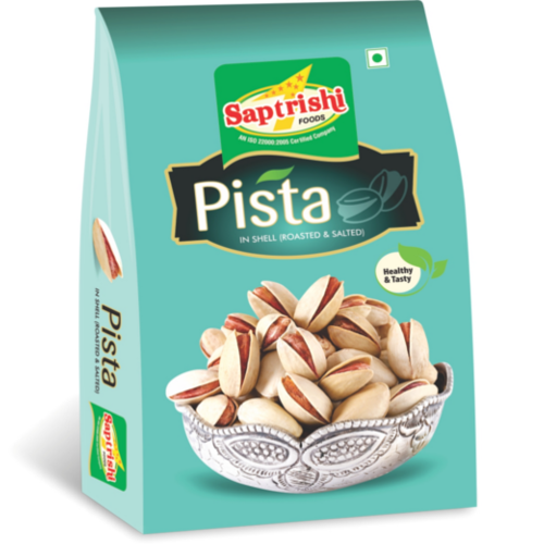 Saptarishi Dry Pista, Packaging: Vacuum Bag