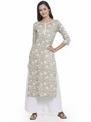 Branded Ladies Kurti Palazzo Set