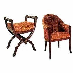 Brown Bedroom Chair