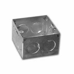 ms ss Metal Modular Electrical Box, Modular Switch Box, Module Size: 8-module