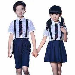 Kids Polyester School Uniform, Size: S-XXL, Packaging Type: Packet