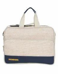Husamsons Plain Messenger Bag 08, Capacity: 18 L