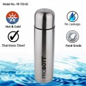 Probott Stainless Steel Double Wall Vacuum Flask Old Edition Water Bottle 750ml -Silver PB 750-02