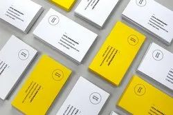 Paper White Visiting Cards Printing Services, Location: Delhi, Size: 89mmX54mm