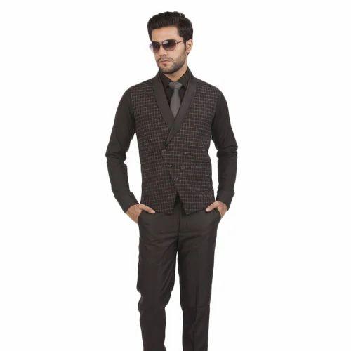 wide varieties great prices hot sale Mens Black Waistcoat