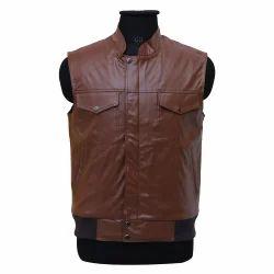 PU Leather Vest