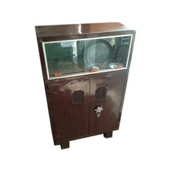Brown Locker Iron Almirah