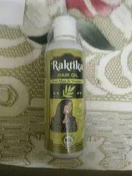Herbal Natural Raktika Hair Oil, For 3 Times Apply For A Week