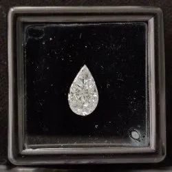 Pear Shape Pie Cut CVD / HPHT Lab Grown Diamond