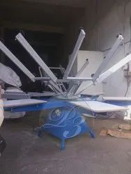 Polished T- Shirt Screen Printing Machine, Model Name/Number: 4by4, 220v