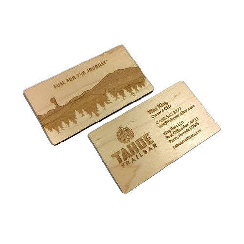 laser engraved business cards cutting service - Engraved Business Cards