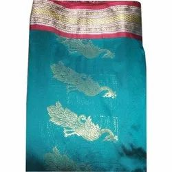 Peacock Design Cotton Orissa Sarees, Packaging Type: Box