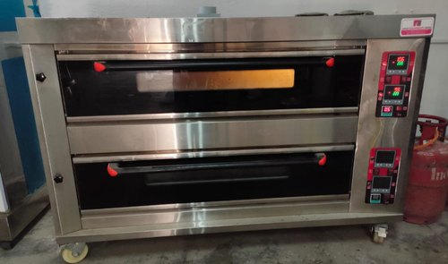Gas Double Deck Baking Oven