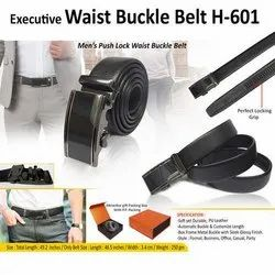 Executive Waist Buckle Belt H-601