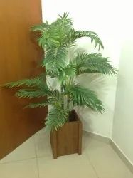 Artificial Golden Palm Tree