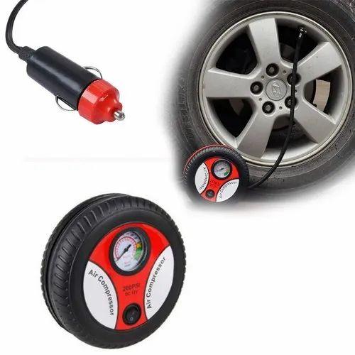 No Brand Universal Portable Mini 12v Car Air Compressor Pump Rs 260