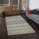 Rectangular New Designer Wool/texture Rug Collection