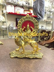Durga Mata Gold Plated