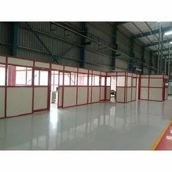 Anodized Aluminum Office Partition
