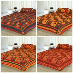 Kathawork Traditional Bed Sheets