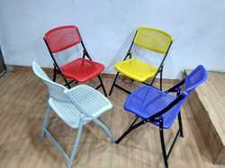 Folding Chairs with MS Legs