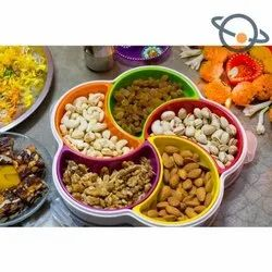 Food Box Plastic Dry Fruits Boxes, Size/Dimension: Standard