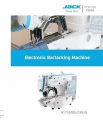 Jack Brand- JK1900 Computerised Bartack Sewing Machine