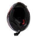 JMD Trusty Mirror Visor Full Face Bike Helmet