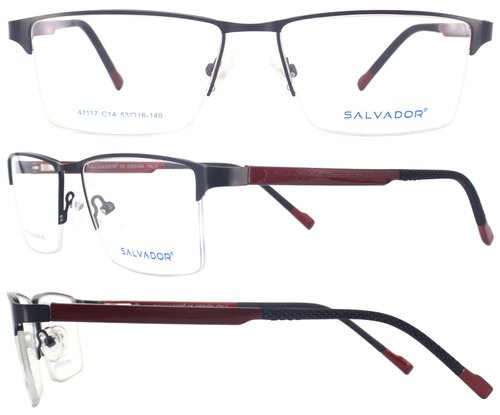a1d17edea1 Half Rim Metal Optical Frame - Men Fashionable Full Rim Optical ...