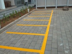 Thermoplastic Hot Melt Road Marking Painting