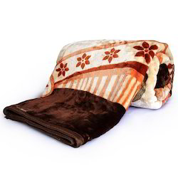 Floral Designer Double Bed Mink Blanket 222