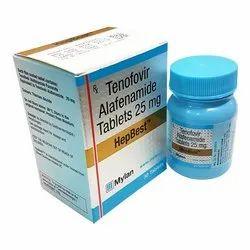 Hepbest ( Tenofovir Alafenamide 25 Mg ) Tablets