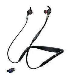 Black Jabra Evolve 75e MS Bluetooth Wireless Earphones