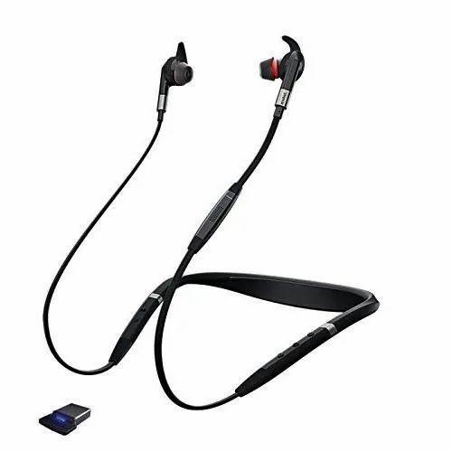 Black Jabra Evolve 75e Ms Bluetooth Wireless Earphones Rs 25000 Unit Id 21924912062