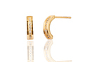 24K Gold Plated Stud Earring