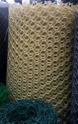 Yellow Hexagonal Wire Mesh
