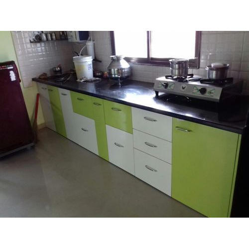 Residential Small Space Modular Kitchen Warranty 1 5 Years Rs 25000 Unit Id 4348886391