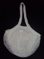Cotton String Bag with Single Handles