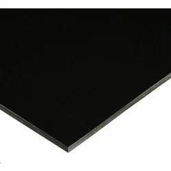 Black Metallic Aluminium Composite Panel
