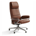 Leather High Back Boss Chair