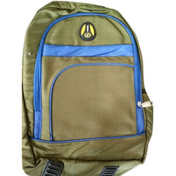 Green And Blue Backpack Bag