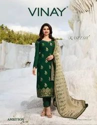Vinay Fashion Kaseesh Ambition Series 8881-8888 Stylish Party Wear Jacquard Suit