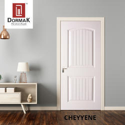 Cheyyene Designer Moulded Wooden White Door