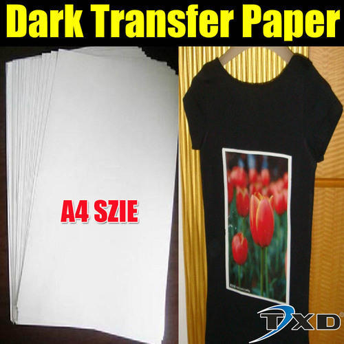 Sublimation Dark Transfer Paper Fabric For Cotton Fabric